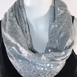 Accessories - Infinity Grey/Silver Scarf - NWT